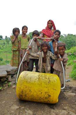 WaterWheel will bring clean water to a thirsty world
