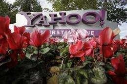 Yahoo's 4Q earnings double, revenue falls 12 pct (AP)