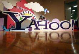 Yahoo's lackluster 2Q revenue growth sinks stock (AP)