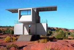 zeroHouse desert