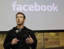 Zuckerberg dad: Mark got computer exposure young (AP)