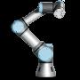 Tabletop robot UR3 can be worker's third-hand helper