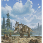 New horned dinosaur species with 'spiked shield' identified