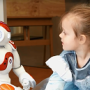 Social robot interacts naturally with young children