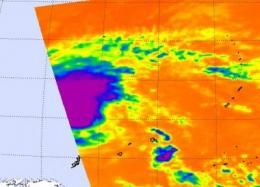 02W renamed Tropical Storm Omais, staying at sea