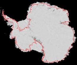 Antarctica Traced from Space