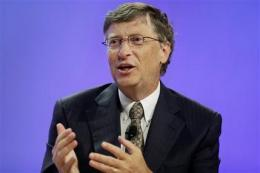 Bill Gates says innovation can leverage change (AP)