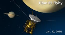 Cassini Returns to Southern Hemisphere of Titan