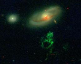 Cosmic curiosity reveals ghostly glow of dead quasar