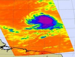 Danielle now a Category 2 hurricane, NASA satellites working in high gear