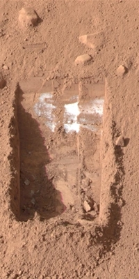 Drilling Down into Mars