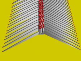 Growing nanowires horizontally yields new benefit: 'nano-LEDs'
