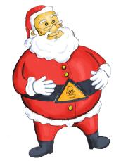 Could Santa Claus be toxic?