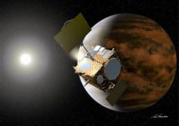 Japan probe reaches Venus but shuts itself down (AP)