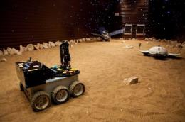Mars500 in orbit around Mars