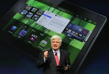 Mike Lazaridis announces the new BlackBerry PlayBook