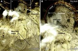 Mud Volcanoes on Mars