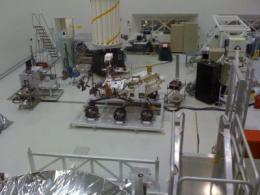 NASA's Mobile Mars Laboratory almost ready for flight