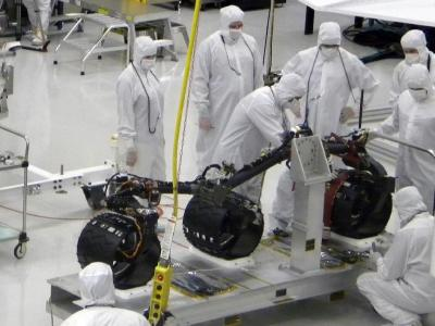 Next Mars Rover Sports a Set of New Wheels