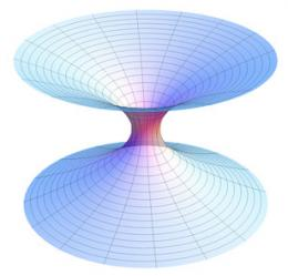 Our universe at home within a larger universe? So suggests physicist's wormhole research