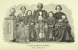 Polygamy hurt 19th century Mormon wives' evolutionary fitness
