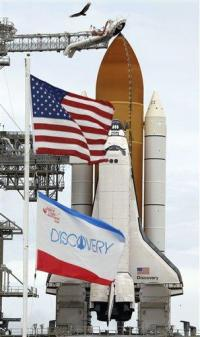 Rain delays space shuttle launch; now set for Fri. (AP)