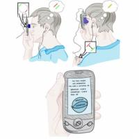 Simple, low-cost device that affixes to a cellphone could provide quick eye tests