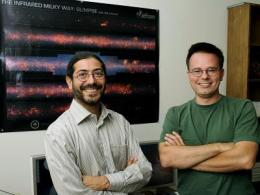 Space telescope's new survey of outer galaxy helps Iowa State astronomers study stars