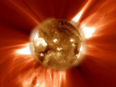 Sun's dark matter trap