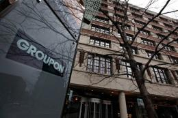 The headquarters of web start-up Groupon