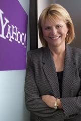 This undated handout from yahoo! received in 2009 shows Yahoo! executivre Carol Bartz