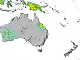 NASA's TRMM Satellite measures Cyclone Ului's Australian rainfall from space