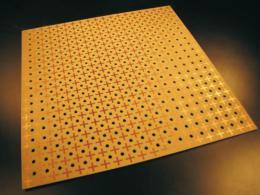 Holes, antennae are breakthrough for beam trap