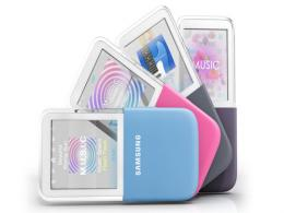 Samsung Introduced New MP3 Players With Transparent Touch AMOLED Display