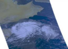 NASA's Aqua satellite sees second tropical storm form near the Horn of Africa