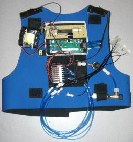 Vest to prevent balance disorder patients falling