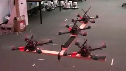 GRASP lab demonstrates quadrotors (w/ Video)