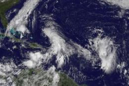 GOES-13 sees another potential tropical depression in Caribbean Sea