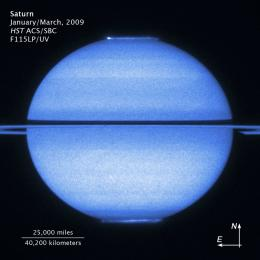 Hubble Captures Saturn's Double Light Show