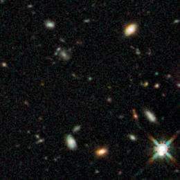 Hubble finds most distant primeval galaxies