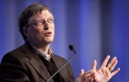 Microsoft co-founder turned philanthropist Bill Gates will expound on innovation and clean energy