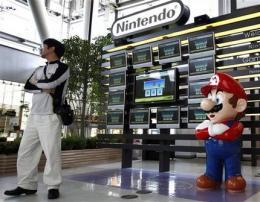 Nintendo profit drops for first time in 6 years (AP)
