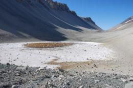 Research in Antarctica reveals non-organic mechanism for production of important greenhouse gas
