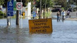 UN weather agency said extreme weather patters, like flooding in Australia, could last for four more months