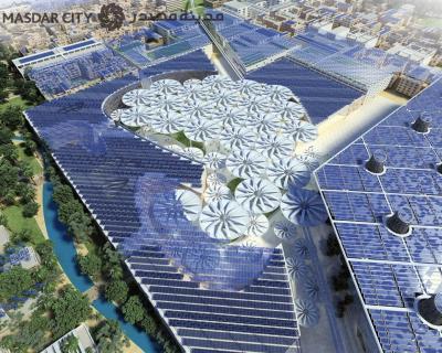 Zero carbon, zero waste city being built in Abu Dhabi