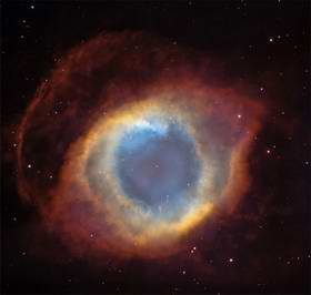 Helix nebula. Courtesy of C. Robert O'Dell