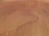 Mars - yardangs