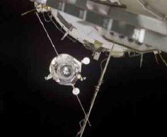 Progress M50 Docks ISS