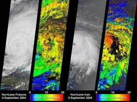 Frances, Ivan Contribute to Hurricane Studies
