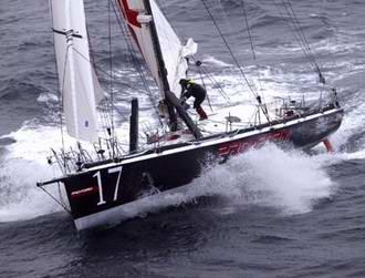 Space technology onboard transatlantic racer